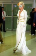 Lady Gaga at Gimpo Airport in Seoul, South Korea 20th April x6