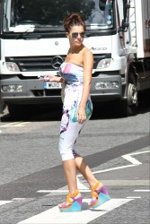 Imogen Thomas Out in London 26th June x14