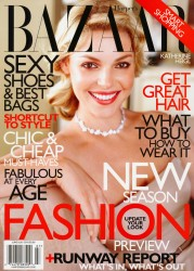 Katherine Heigl x6 Harper's Bazaar June/July 2010