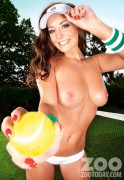 Дейзи Ваттс, фото 131. Daisy Watts & Amy Green - Sexy Wimbledon July 2012 LQ Tags, foto 131